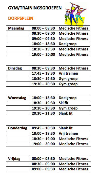 gym-trainingsgroep